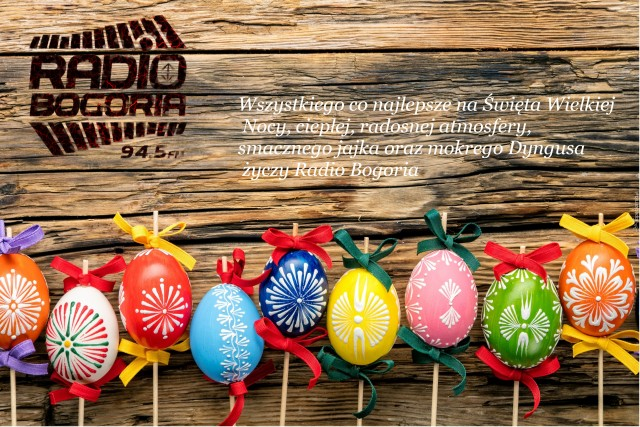 Kartka wielkanoc radio Bogoria
